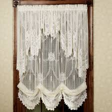 Kitchen Window Curtain Panels Garland Lace Balloon Shades Balloon Shades Macrame Curtain And