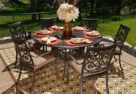 wonderful round outdoor dining table for 6 round table patio furniture sets luxury home design gallery