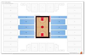 Cincinnati Bearcats Basketball Seating Chart Fifth Third Arena Cincinnati Seating Guide Rateyourseats Com