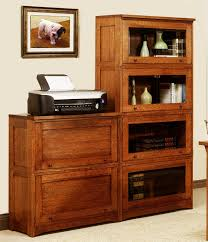 mission style solid oak office computer. 2 Stack With Wood Doors. 4 Glass Mission Style Solid Oak Office Computer