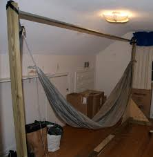 interior inspiring homemade hammock stand diy forums gallery chair wood plans wooden easy pvc metal