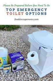 top emergency toilet options food