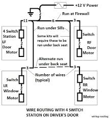 1964 falcon power window install if you are going to use the directed electronics 535t auto up down module then the wiring routing would be like below if the 535t is mounted on the