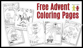 These nativity coloring sheets are ideal for kids of all ages. Free Advent Coloring Pages For Kids Christmas Printables