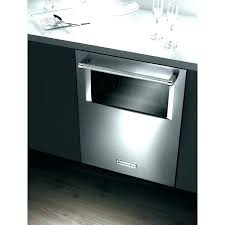 oven with sliding door