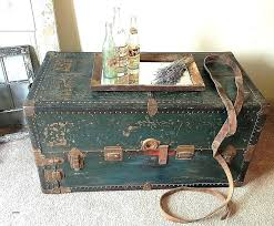 old trunks as coffee tables old trunks as coffee tables awesome coffee table antique trunk coffee