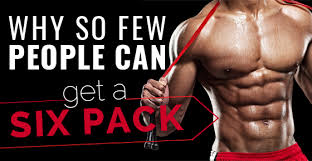 why so few people can get a six pack