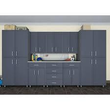 closetmaid cabinets w piece garage storage cabinet set