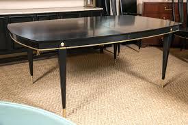 regency dining room furniture set. hollywood regency ebonized dining table set in the manner of jansen 2 room furniture