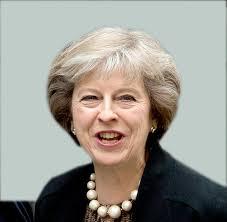 「テリーザ・メイ新首相」の画像検索結果