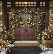 christmas front door decorations50 Best Christmas Door Decorations for 2017
