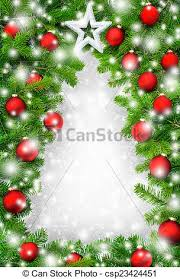 christmas tree borders and frames. Plain And Creative Christmas Tree Border  Csp23424451 Throughout Tree Borders And Frames I