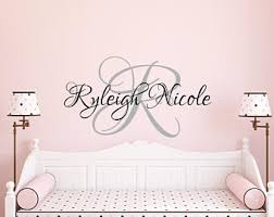 on etsy personalized baby wall art with baby wall decals etsy