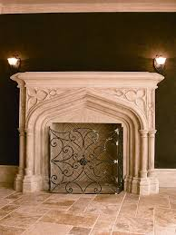 notre dame mantelfireplace mantel by stone age designs