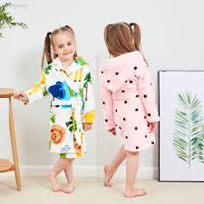 Time to get baby all cleaned up! Kids Robe Price And Deals Jul 2021 Shopee Singapore