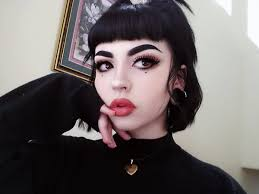the eyebrows looks too fake but if thats the look alright then 3