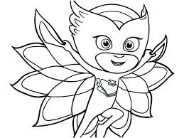 Coloring Pages Nickelodeon Pj Masks Mask Colouring Disney For Adults
