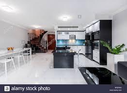 Moderne Und Funktionale Wohnzimmer Interieur Mit Offener