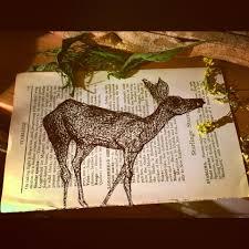 deer book page