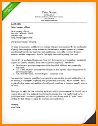 Sample Cover Letter For Project Engineer Project Engineer Cover