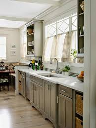 painted gray kitchen cabinetsGray Kitchen Cabinets
