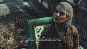 Fallout 4 Far Harbor - Meeting Cassie Dalton for the first time - YouTube