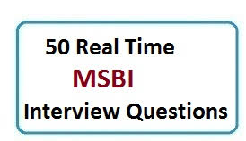 Ssis Interview Questions 30 Top Msbi Interview Questions And Answers Pdf Real Time