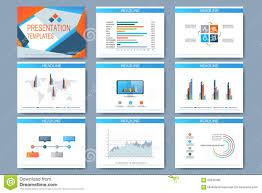 Set Of Vector Templates For Multipurpose Presentation Slides