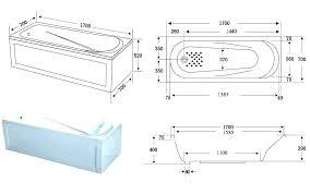 bathtub dimension corner bathtub dimensions in cm