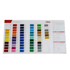 Oracal 651 Color Chart Oracal 651 Intermediate Color Chart