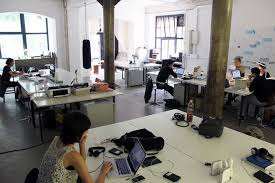 designing office space. Contemporary Office Theoretically Open Office Space Allows For Increased Collaboration And  Communication Among Coworkers However Studies Show The Reality Is More  In Designing Office Space A
