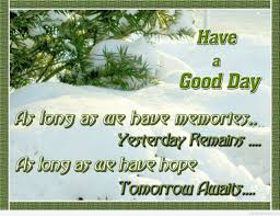 Good Morning December Quotes Best of Good Morning December Quotes A Good Day Winter Image And Quote