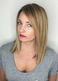 short hairstyles for women with thin fine hair straight long bob