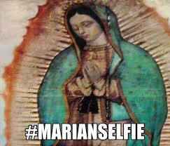 Marian Selfie | Thankful to be Catholic | Pinterest | Selfie and Meme via Relatably.com