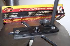 drill press metal lathe. shop fox lathe attachment. \ drill press metal a