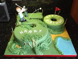Masculine Birthday Cakes 10 Male Birthday Golf Cakes Photo Mens 50th