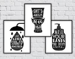 pictures for bathroom wall decor. bathroom wall decor,bathroom set,bathroom sign set,save water,shower together pictures for decor
