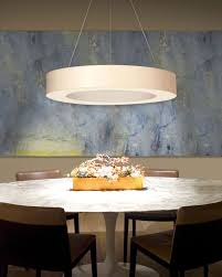 ring shade 32 inch led pendant light