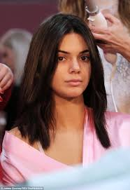 ready for her glam squad the 21 year old was makeup free