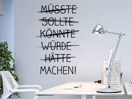 Wandtattoo Sprüche Für Firma Arbeit Büro Wandtattoosde