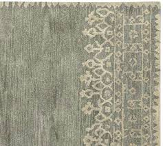 pottery barn rug bordered wool gray 5 s henley review