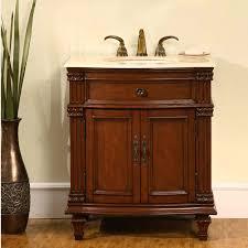 305 Inch Single Sink Bathroom Vanity With Marble