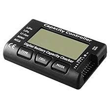 REES52 <b>Universal RC CellMeter-7</b> Digital Cell Battery Capacity ...