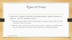 how to write an essay for hiset  types