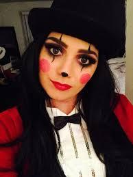 ringmaster clown makeup