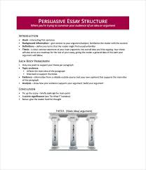 essay templates word pdf documents  persuasive essay template
