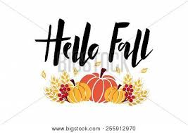 Hello Fall Hand Vector Photo Free Trial Bigstock