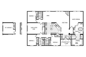4 Bedroom Modular Homes Floor Plans | CLAYTON The Gotham ~ 4 Bedroom 3 Bath  Triplewide
