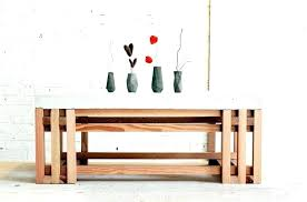 full size of diy coffee table wooden crates decor wood slab concrete homemade modern kitchen