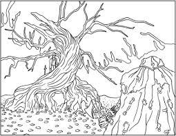 The Legend Of Sleepy Hollow Kleurplaat Gratis Kleurplaten Printen